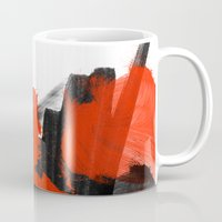 sin city Mugs featuring SIN  by Lauren Lee Design's