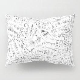 Musical Instrument Vintage Patent Pattern II Pillow Sham