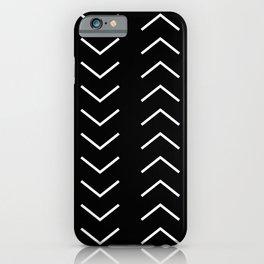 White Arrows iPhone Case