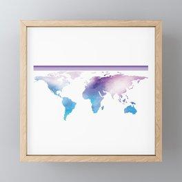 Go Find Yourself - Travel T-Shirt For Everyone, Backpacker, Traveler, Flight Catchers and Adventurer Framed Mini Art Print