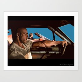fast and the furious Art Print
