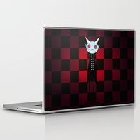 demon Laptop & iPad Skins featuring Demon by Daniela Jiménez