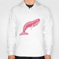 whales Hoodies featuring whales by Wee Jock