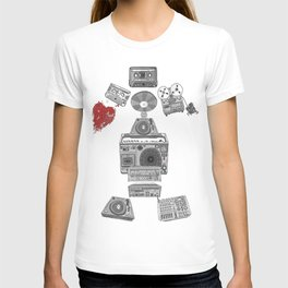 Jx3 Music Series - Musik Robot T-shirt