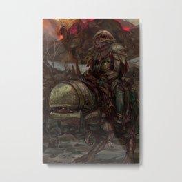 Guar Scavenger  Metal Print