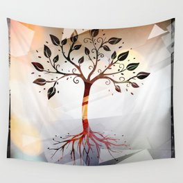 Vintage Life Wall Tapestry