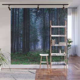 Green Magic Forest - Landscape Nature Photography Wall Mural