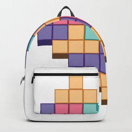 BLOCK GAME HEART Backpack