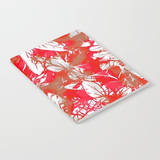 Lovely Leaf Pattern Notebook