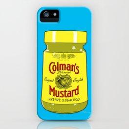Proper Mustard iPhone Case