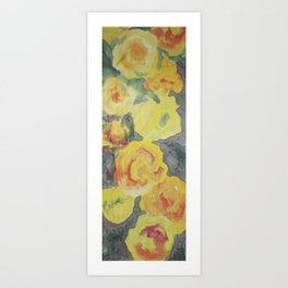 Roses of Late Summer Art Print