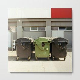 CONTAINER STILL LIFE Metal Print