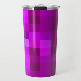 Purple Mosaic Travel Mug