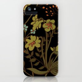 olive flowers iPhone Case