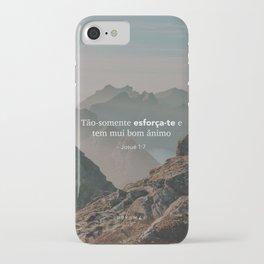 Josué 1:7 iPhone Case