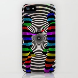 Dissension-3D Art iPhone Case