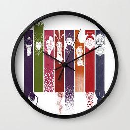 Disney Villains Wall Clock