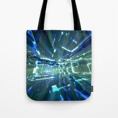 Sapphire Tunnels Tote Bag
