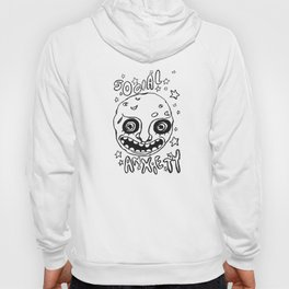 social anxiety black and white Hoody