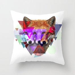 trifox Throw Pillow
