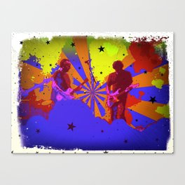 Psychedelic Stage Canvas Print