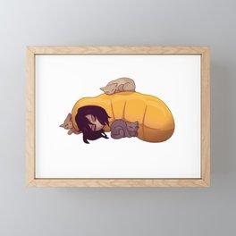 Aizawa Shouta Sleep Framed Mini Art Print