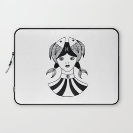 Poisson zodiaque Laptop Sleeve
