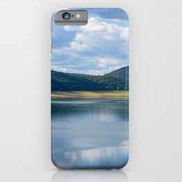 Lake view - Edersee, Hessen, Germany iPhone Case