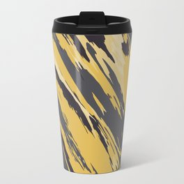 Golden grey Travel Mug