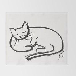 Cat II Throw Blanket