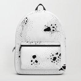 b & w the sea 01 Backpack