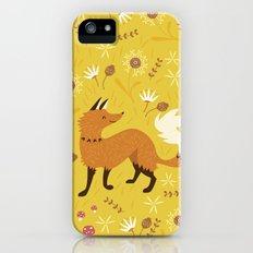 Cute as a Fox iPhone (5, 5s) Slim Case
