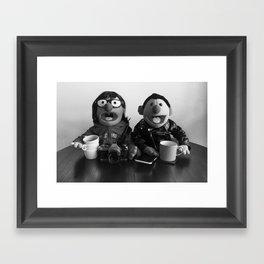 Modern Puppet Gothic Framed Art Print