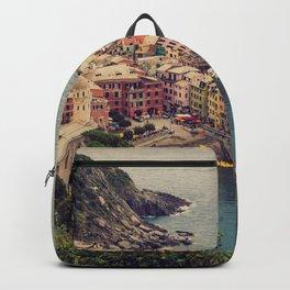 Vernazza, Cinque Terra, Italy Backpack