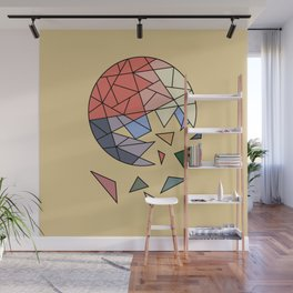 CONSTANT EVOLUTION (abstract geometric) Wall Mural
