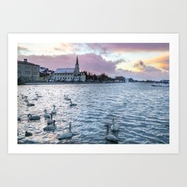 Afternoon Sunrise Art Print