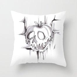 Poison Inktober Drawing Throw Pillow
