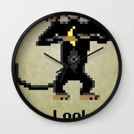 Three-Headed Monkey Wall Clock