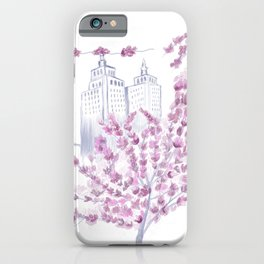 Spring in NYC iPhone Case