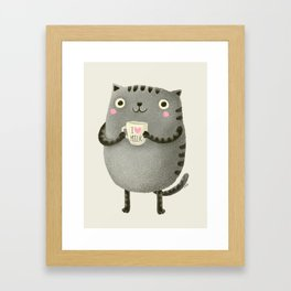 I♥milk Framed Art Print