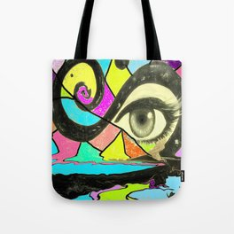 Happiness and suffering Tote Bag