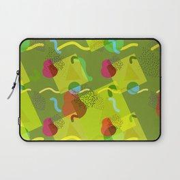Neo Memphis Fun - Green Laptop Sleeve