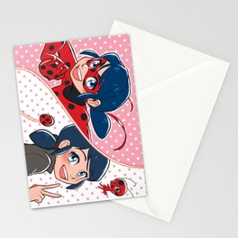 Ladybug Marinette Stationery Cards