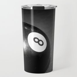 Eight Ball-Black Travel Mug