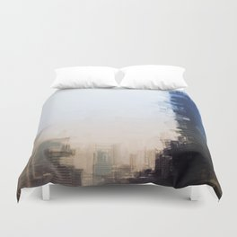London Abstract Duvet Cover
