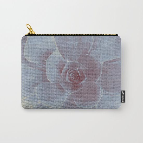 Geometric Succulent Carry-All Pouch