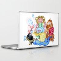nintendo Laptop & iPad Skins featuring Nintendo parta by OhSillyTurtle