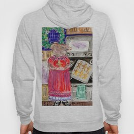 Miss Mouse Baking Holiday Cookies Hoody