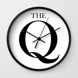 THE Q Wall Clock
