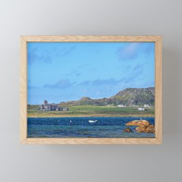 Iona Abbey 2 Framed Mini Art Print